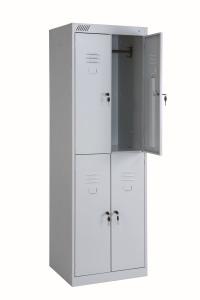 Шкафы для одежды на четыре двери