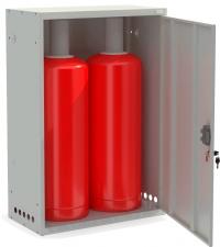 Шкаф для двух газовых баллонов ШГР 50-2