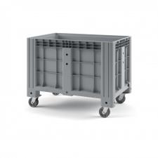 Пластиковый контейнер iBox 1200х800 (сплошной, на колёсах)