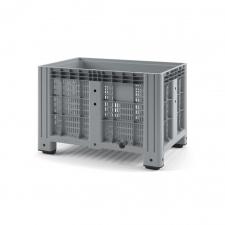 Пластиковый контейнер iBox 1200х800 (перфорированный, на ножках)