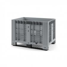 Пластиковый контейнер iBox 1200х800 (перфорированный, на полозьях)