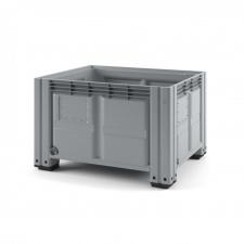 Пластиковый контейнер iBox 1200х1000 (сплошной, на ножках)