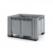 Пластиковый контейнер iBox 1200х1000 (сплошной, на полозьях)