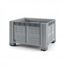 Пластиковый контейнер iBox 1200х1000 (перфорированный, на ножках)