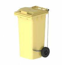 Контейнер для мусора 120 литров с педалью