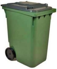 Контейнер для мусора 360 литров (диаметр колес 300 мм)