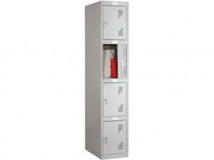 Шкаф для раздевалок антивандальный NOBILIS NLH-04