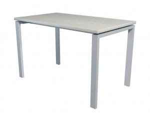 Стол офисный NT 120X70 белое дерево/серый