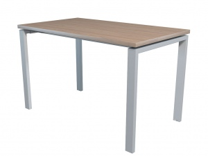Стол офисный NT 120X70 вяз натуральный/серый