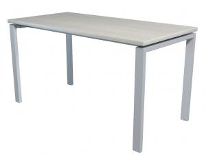 Стол офисный NT 140X70 белое дерево/серый