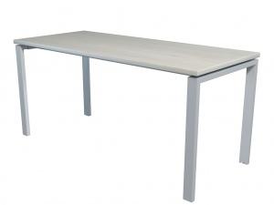 Стол офисный NT 160X70 белое дерево/серый