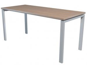 Стол офисный NT 160X70 вяз натуральный/серый