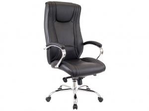 Офисное кресло ARGO М натуральная кожа черная