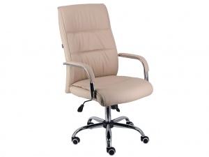 Офисное кресло BOND экокожа бежевая