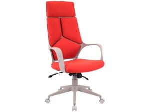 Офисное кресло TRIO GREY (ткань красная)