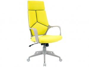 Офисное кресло TRIO GREY (ткань салатовая)