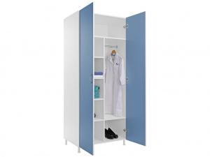 Шкаф для одежды MW-2 1980 (голубой)