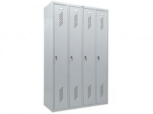 Шкаф для раздевалок ПРАКТИК LS-41