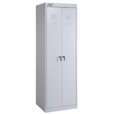 Металлический шкаф для одежды ШРК-22-800 в разобранном виде